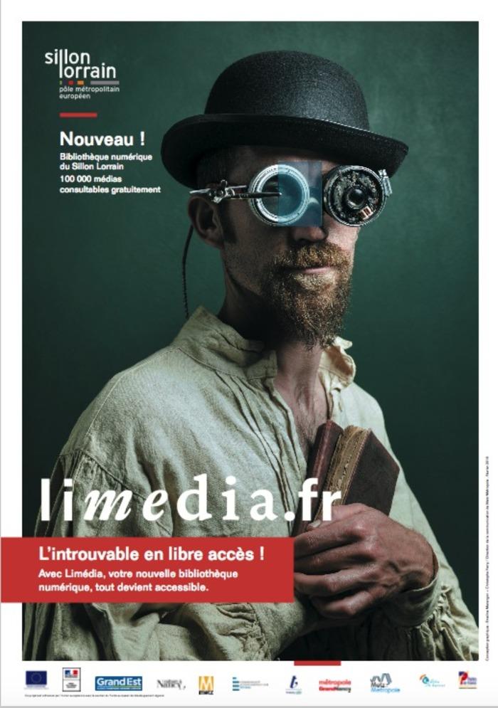 Journées du patrimoine 2020 - Présentation de Limédia Galeries, la Bibliothèque Numérique du Sillon Lorrain.