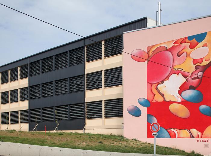 Journées du patrimoine 2020 - Fresque de Guillaume Bottazzi