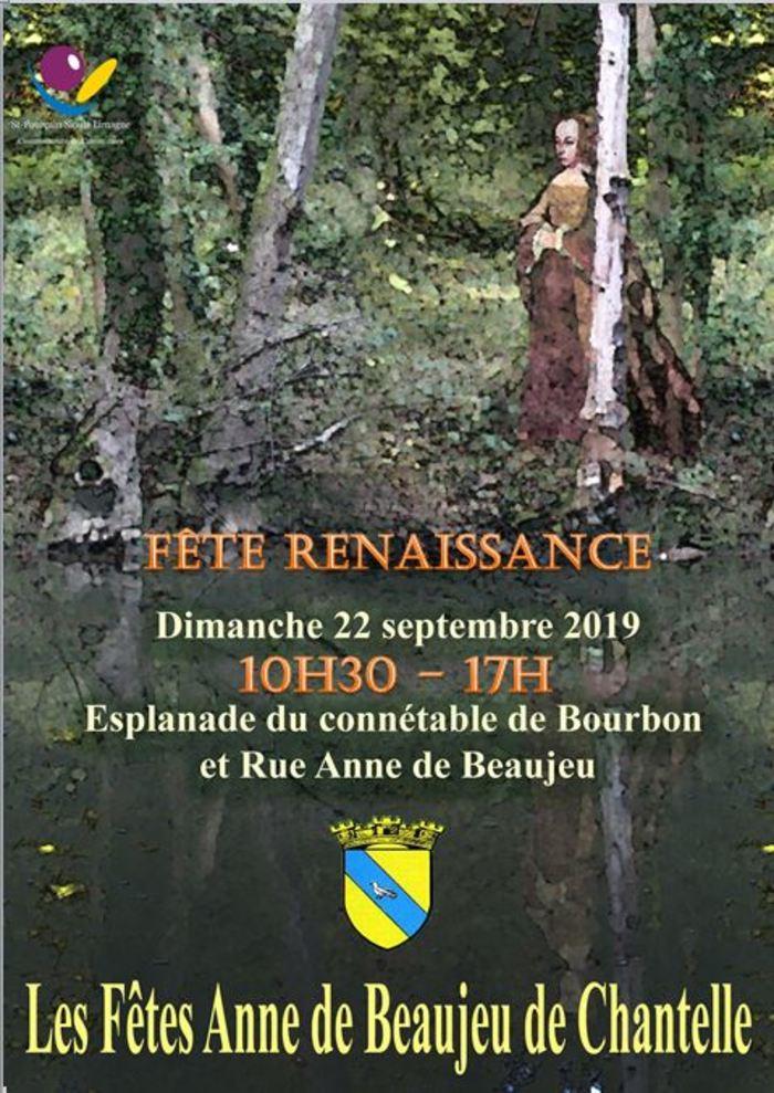 Journées du patrimoine 2019 - Fête Renaissance Anne de Beaujeu de Chantelle (1500-1520)
