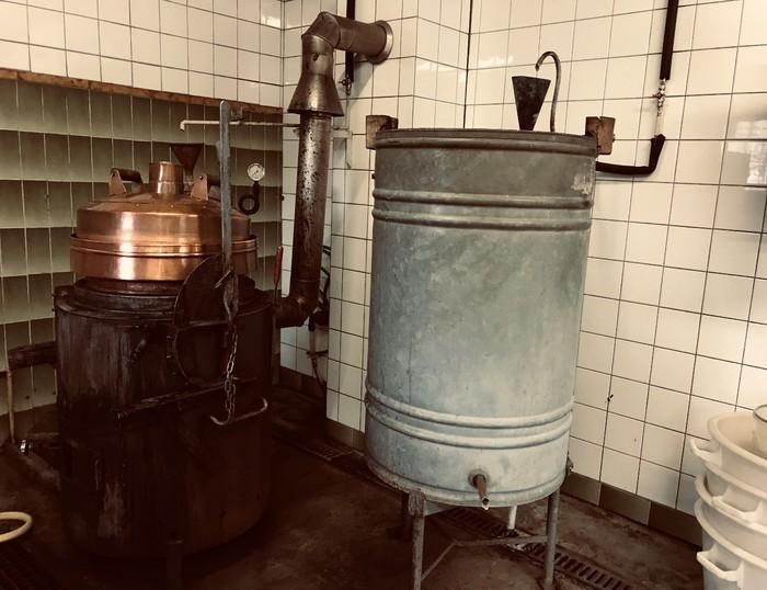 Journées du patrimoine 2019 - Découverte de l'alambic municipal