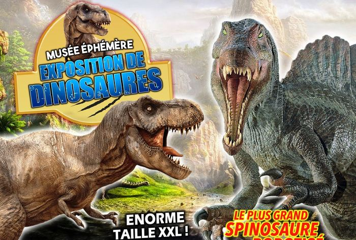 Journées du patrimoine 2020 - Le Musée Ephémère: Exposition de dinosaures