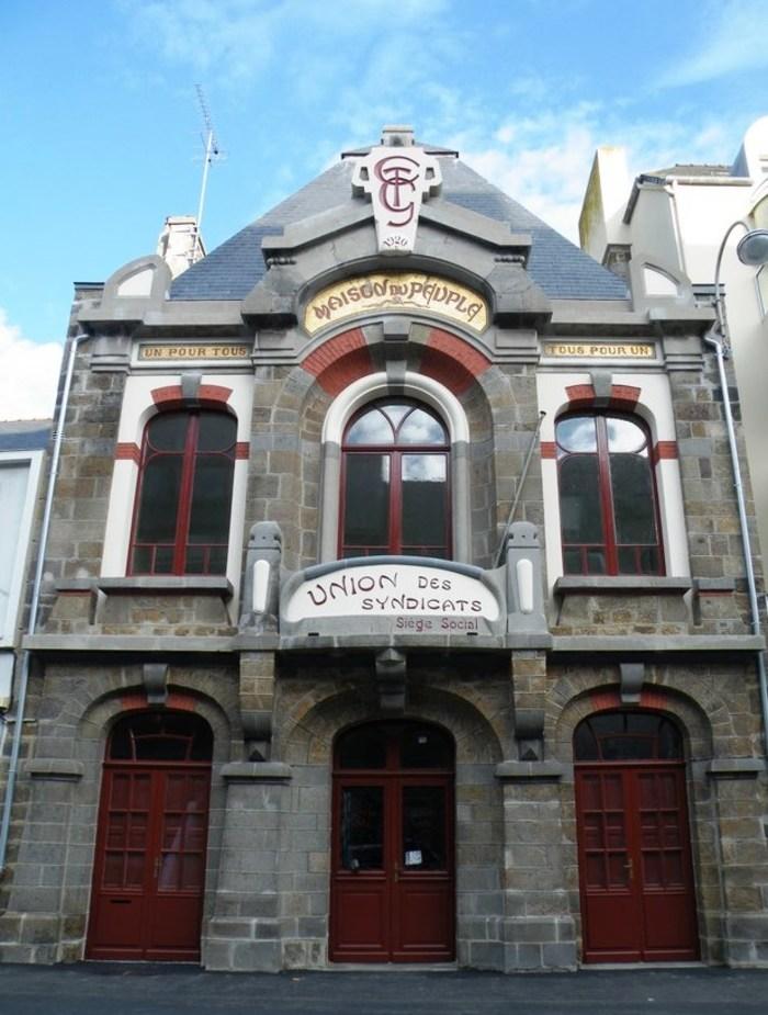 Journées du patrimoine 2019 - Visite commentée de la Maison du Peuple - St Malo