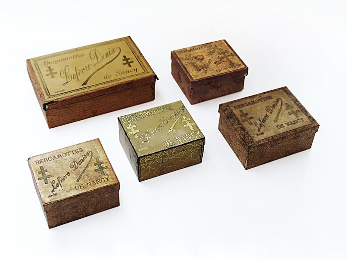 Journées du patrimoine 2019 - La Confiserie Lefèvre-Lemoine vous fait découvrir la collection de boîtes de bergamottes du collectionneur Alain Barrot