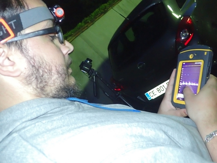 Lors d'une promenade nocturne, nous chercherons, observerons et écouterons grâce à un appareil spécial (annabat walkabout) les chauves-souris du parc des Beaumonts.