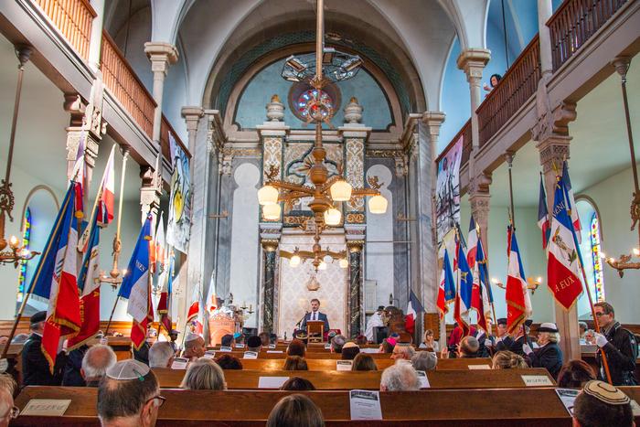 Journées du patrimoine 2019 - Synagogue de Belfort : panorama du patrimoine juif : objets rituels, musique, littérature