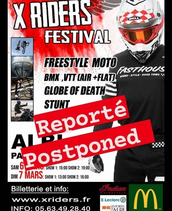 X-Riders, un évènement 100 % freestyle. Venez voir les casse-cous de la gravité enchaîner backflips et autres tricks tout au long du week-end !Shows et démonstrations de sports extrêmes moto et vélo.