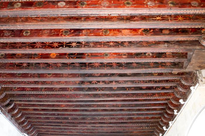 Journées du patrimoine 2019 - Les secrets du plafond médiéval