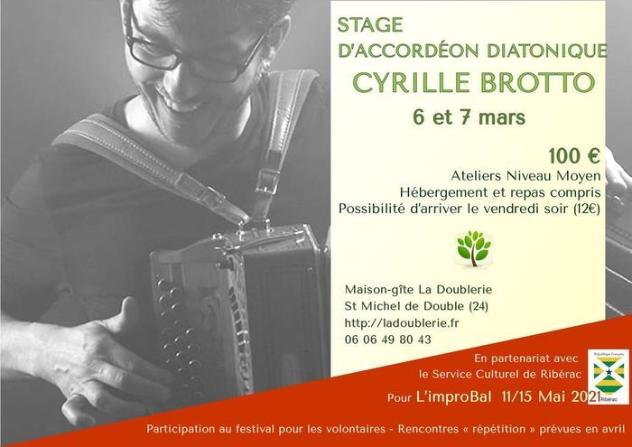 Stage - accordéon diatonique