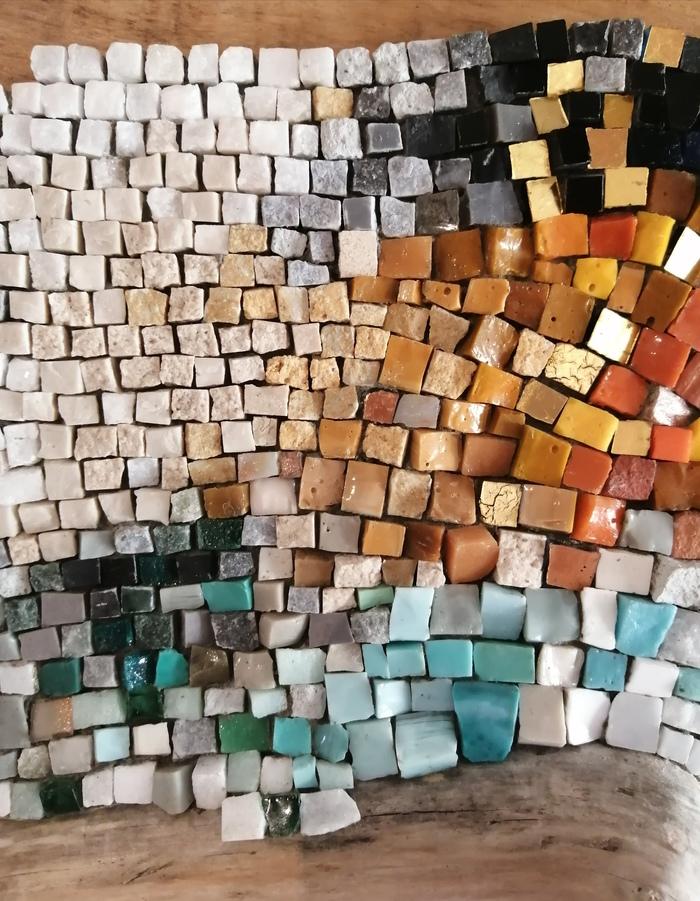 Journées du patrimoine 2020 - Atelier mosaïque : démonstration et initiation de taille à la marteline