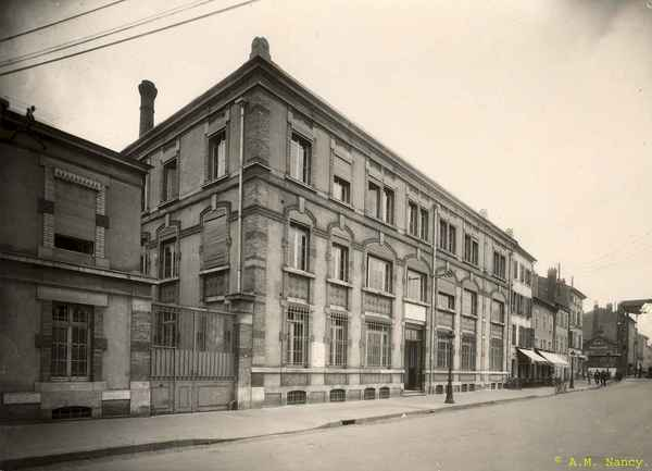 Crédits image : Archives municipales de Nancy, cote 5 Fi 91