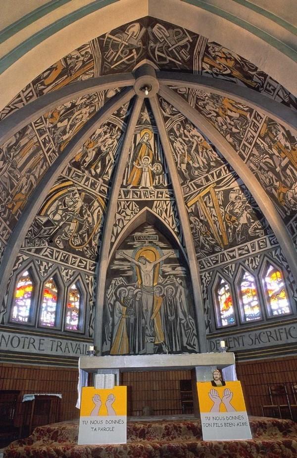 Journées du patrimoine 2017 - Visite libre de l'église Notre-Dame des Mines