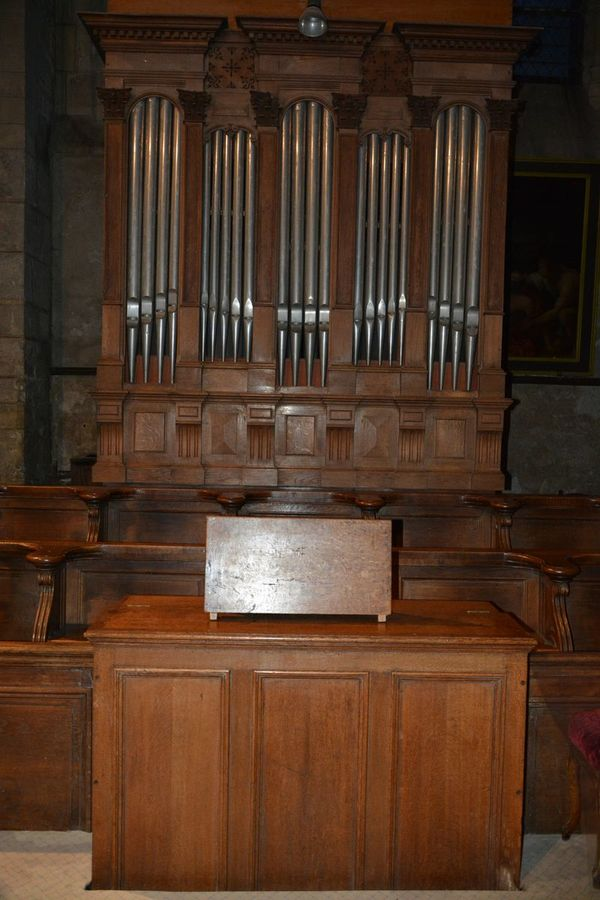 Crédits image : Orgue de choeur © les amis des orgues