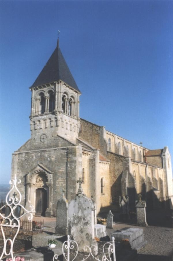 Journées du patrimoine 2018 - Visite guidée de l'Église de Saint-Julien-de-Jonzy