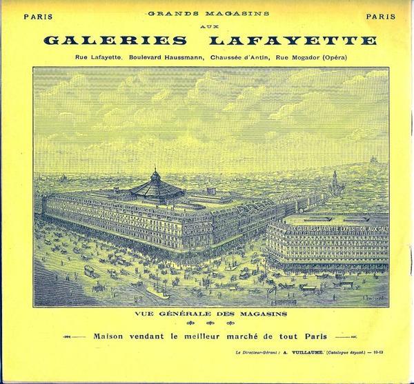Journées du patrimoine 2017 - Visite commentée à la découverte des Galeries Lafayette