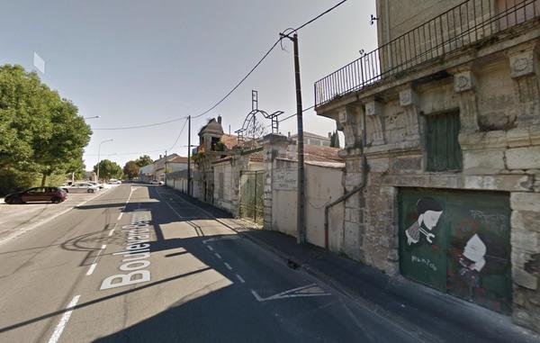Friche industrielle sur les bords de la Charente
