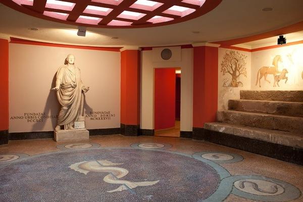 Crédits image : Hall du bain romain © Cie des thermes de Plombières-les-Bains