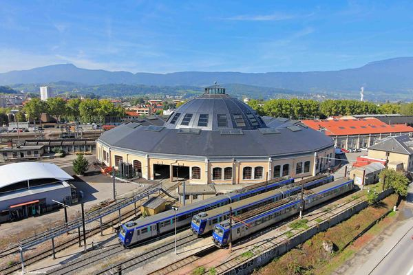 Journées du patrimoine 2017 - La rotonde ferroviaire de Chambéry : visite libre