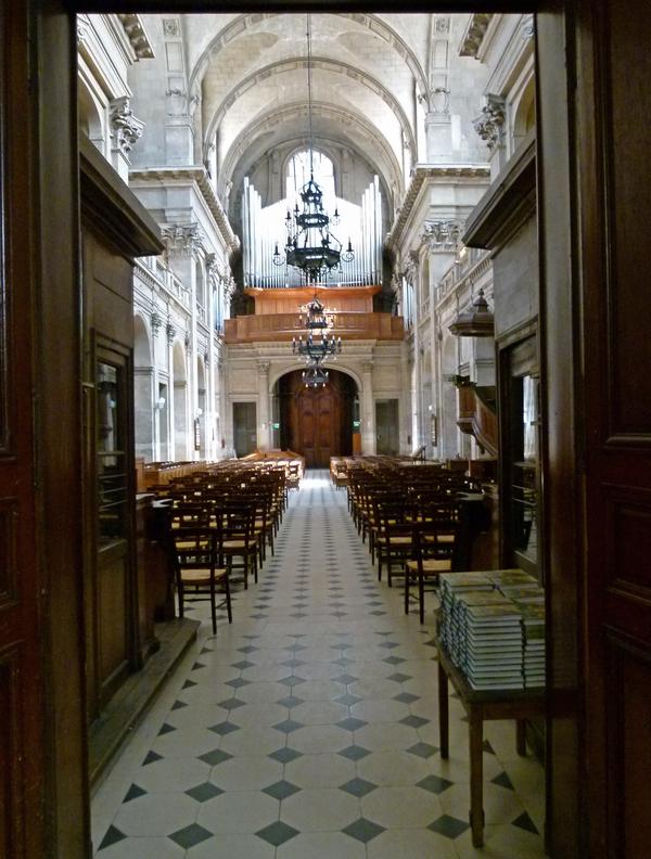 Journées du patrimoine 2020 - Visite de l'Oratoire du Louvre