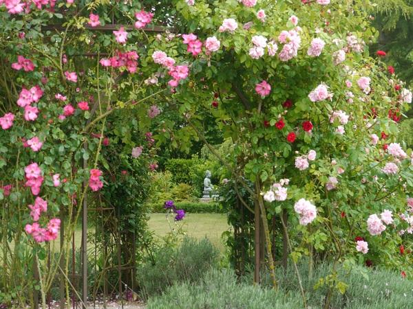 Rendez Vous aux Jardins 2018 -Le jardin de Mireille en Touraine Angevine