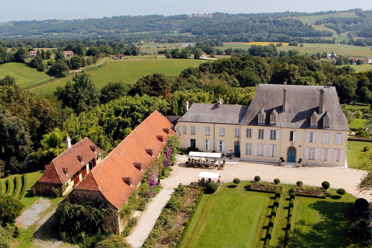 Jardins du château de Viven