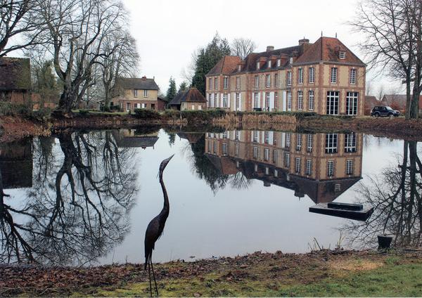 Journées du patrimoine 2017 - Visite libre du parc du chateau de la Duquerie et conférence sur les abeilles