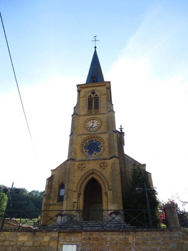 Crédits image : Vigneul-sous-Montmédy - Eglise Saint-Pierre - (c) Aimelaime~commonswiki