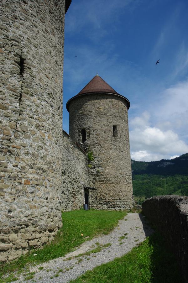 Crédits image : Château de Bonneville - Cliché Département de la Haute-Savoie