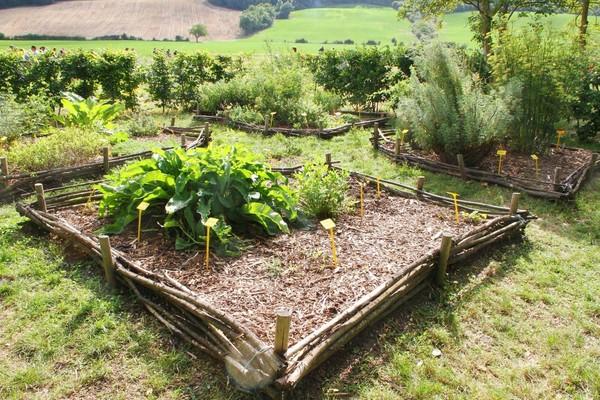 Rendez Vous aux Jardins 2018 -Jardin médiéval de Cailloup Mas Vieux, Cailloup, Pamiers, Ariège, Languedoc-Roussillon-Midi-Pyrénées