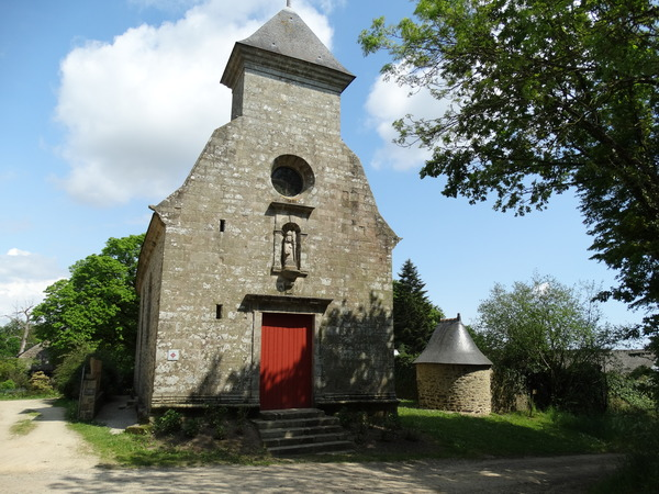 Crédits image : Chapelle de Saint-Quirin  / Crédit photo : Mairie de Brec'h