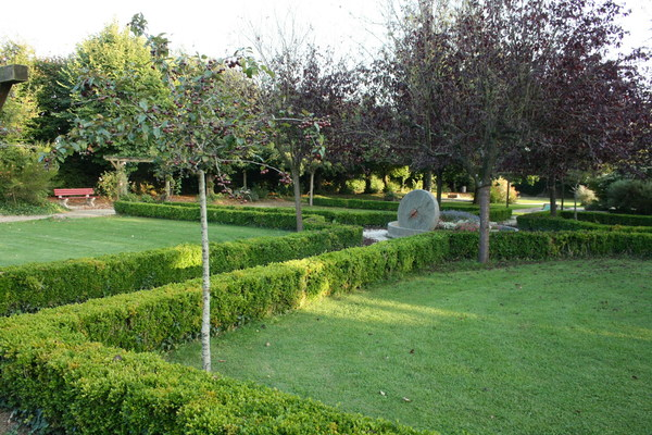 Journées du patrimoine 2020 - Parc de la Mairie et sa charmille