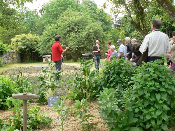 Rendez Vous aux Jardins 2018 -Maison Cornec - Ecomusée des Monts d'arrée