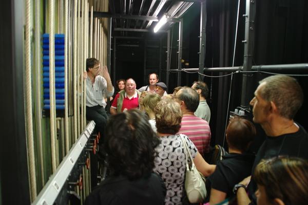 Journées du patrimoine 2019 - Visite guidée par une personne chargée des relations publiques et un technicien du spectacle