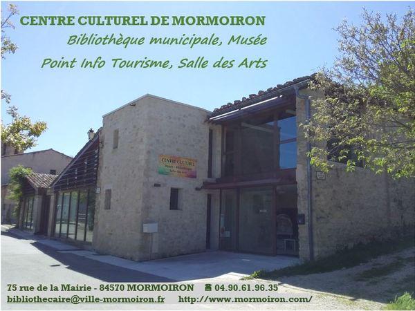 Crédits image : Centre culturel de Mormoiron