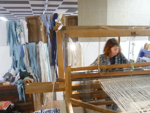 Journées du patrimoine 2017 - Portes Ouvertes de l'atelier de tissage et de teinture végétale
