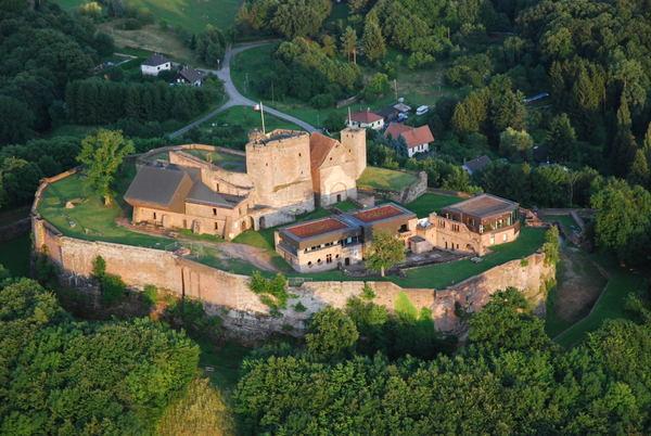 Crédits image : Château du Lichtenberg © Norbert Guirkinger