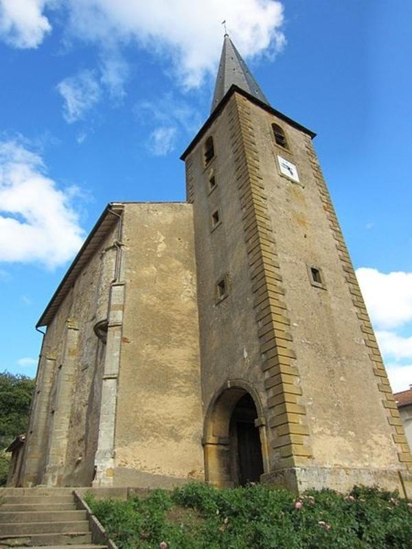 Crédits image : Eglise de Waville - (c) Aimelaime-Wikimedia Commons