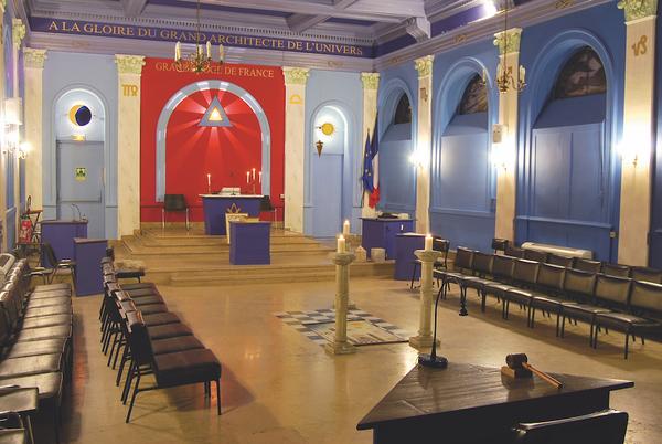 Journées du patrimoine 2017 - Temple maçonnique à Dijon