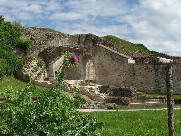 Rendez Vous aux Jardins 2018 -L'horticulus du théâtre antique de Mandeure