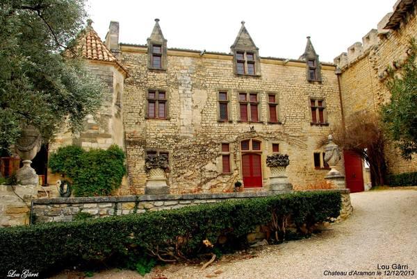 Crédits image : © Association Les amis du château d'Aramon