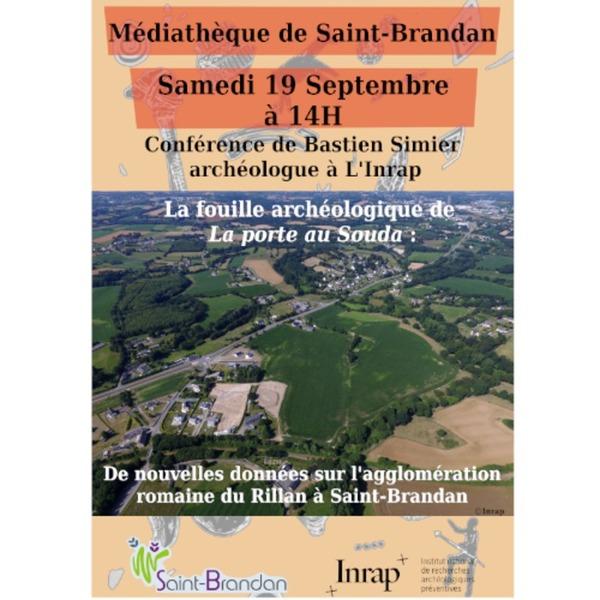 Crédits image : Médiathèque / Saint-Brandan  // INRAP