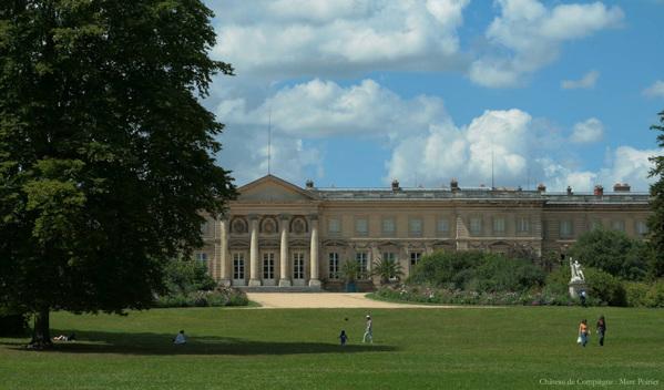 Crédits image : Façade du Palais impérial de Compiègne © Palais impérial de Compiègne / Marc Poirier