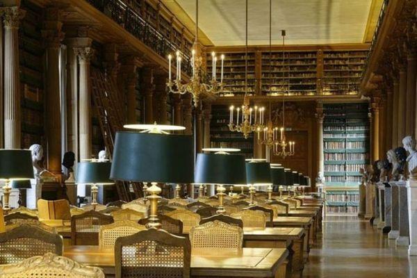 Journées du patrimoine 2017 - Visite libre de la salle de lecture de la bibliothèque Mazarine