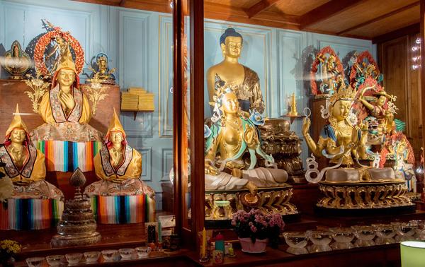 Journées du patrimoine 2018 - Portes ouvertes du centre de Méditation Kadampa France