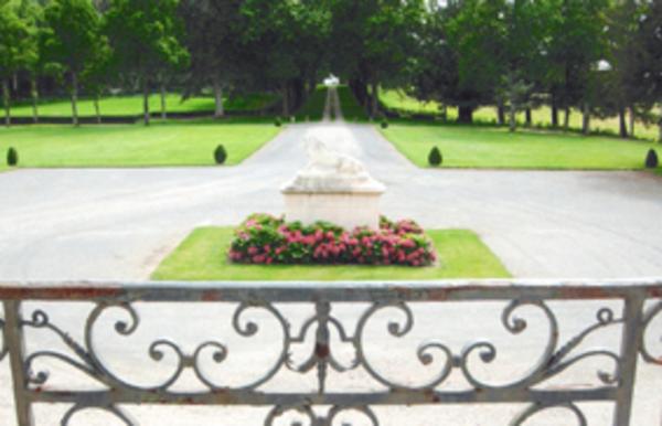 Journées du patrimoine 2017 - visite du parc de la baugisière