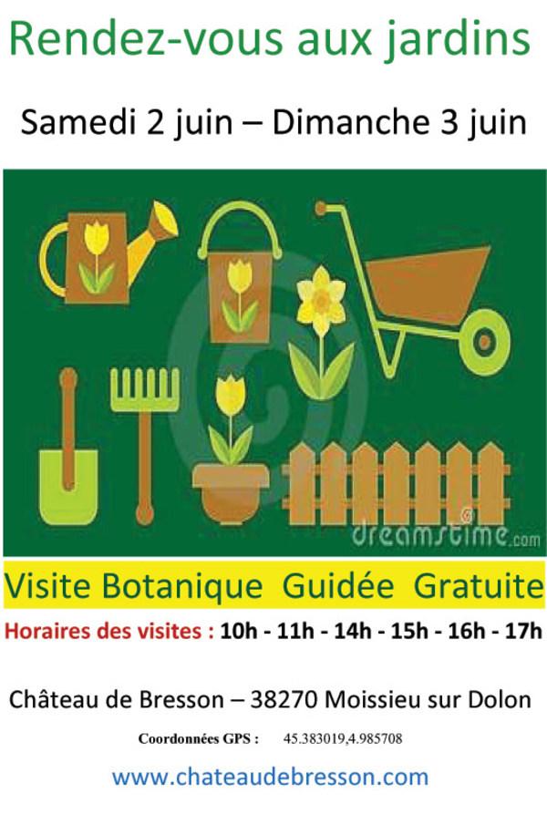 Rendez Vous aux Jardins 2018 -Jardins du château de Bresson