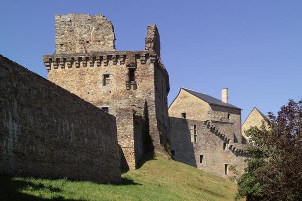 Journées du patrimoine 2018 - Visite libre et dispositif multimédia sur l'évolution architecturale du château de Châteaubriant, du XIème siècle à aujourd'hui