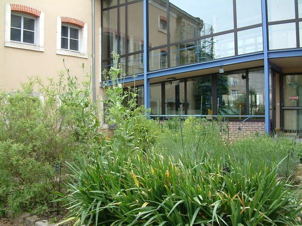 Rendez Vous aux Jardins 2018 -Jardin textile du musée de la Chemiserie