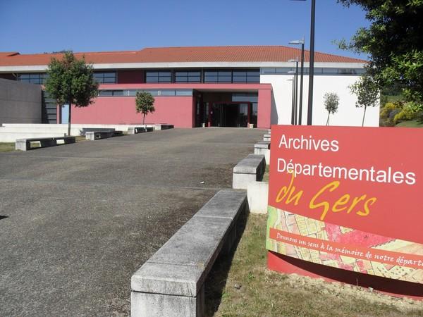 Journées du patrimoine 2017 - Visite guidée des Archives départementales du Gers
