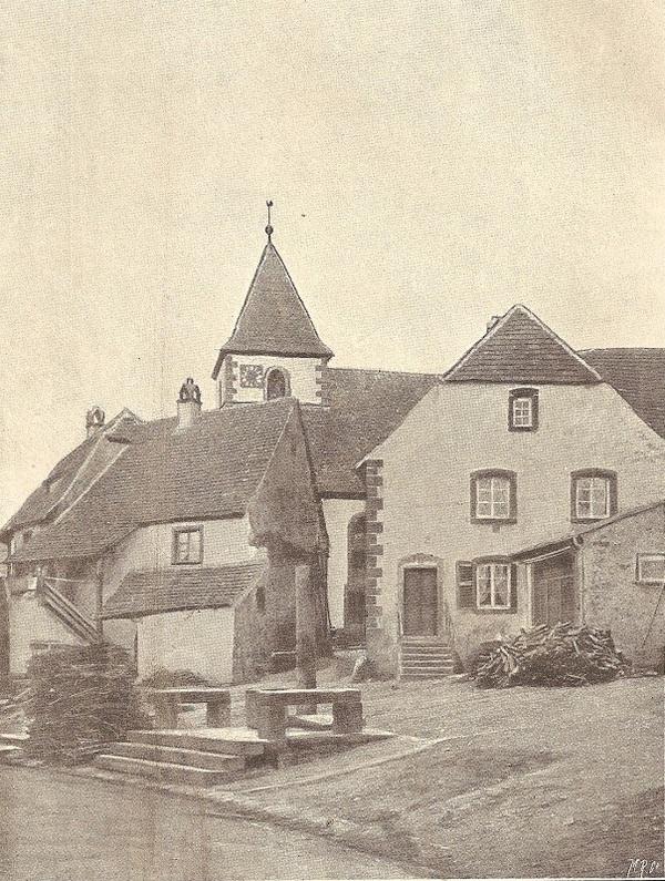 Crédits image : De Kerichhoft (cimetière fortifié)  - photo. DRAC