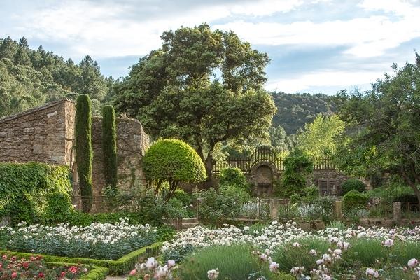 Jardins de l'abbaye de Fontfroide
